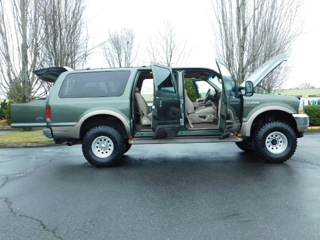 2002 Ford Excursion Limited 4X4 7.3L DIESEL / Leather / LIFTED LIFTED - Photo 30 - Portland, OR 97217