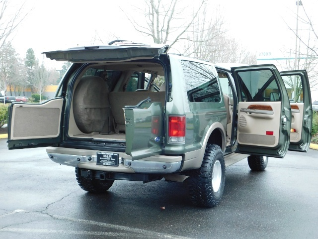 2002 Ford Excursion Limited 4X4 7.3L DIESEL / Leather / LIFTED LIFTED - Photo 29 - Portland, OR 97217