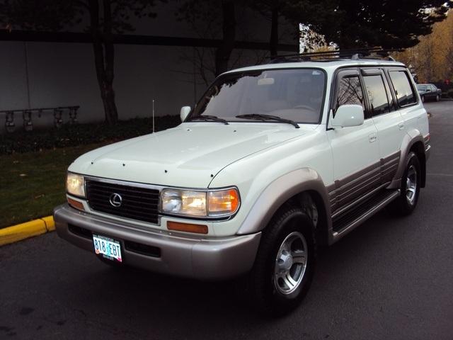 1997 Lexus LX 450 / 4WD/ 3rd Seat / Luxury