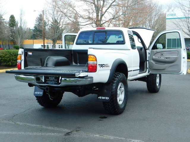 "2004 Toyota Tacoma V6 2dr 4WD Xtracab TRD RR DIF LIFTED 33 ""MUD CANOPY - Photo 18 - Portland, OR 97217"