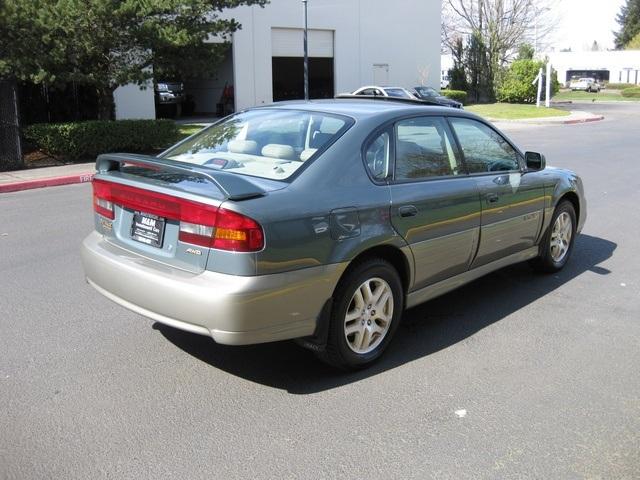 2002 Subaru Outback Limited Edition Sedan 4 Dr Awd 1 Owner