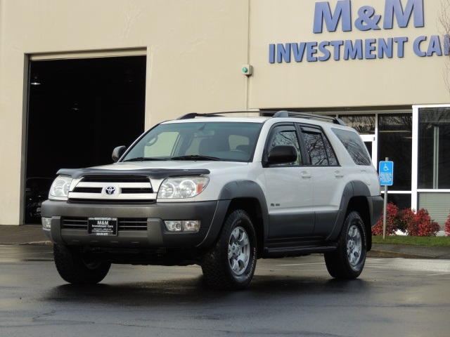 2003 toyota 4runner sr5 4x4 v8 4 7 liter differential locks 137 kmiles. Black Bedroom Furniture Sets. Home Design Ideas