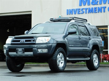 2004 Toyota 4Runner LIMITED / 4X4 / V8 / NAVi / LEATHER / LIFTED !! SUV