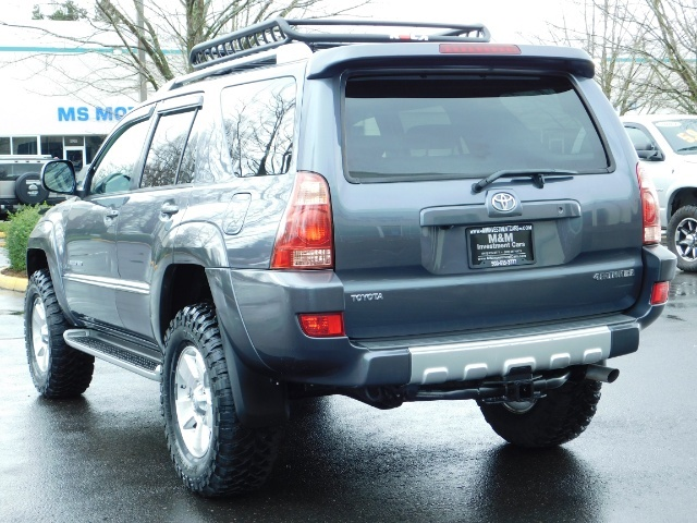 2004 Toyota 4Runner LIMITED / 4X4 / V8 / NAVi / LEATHER / LIFTED !! - Photo 7 - Portland, OR 97217