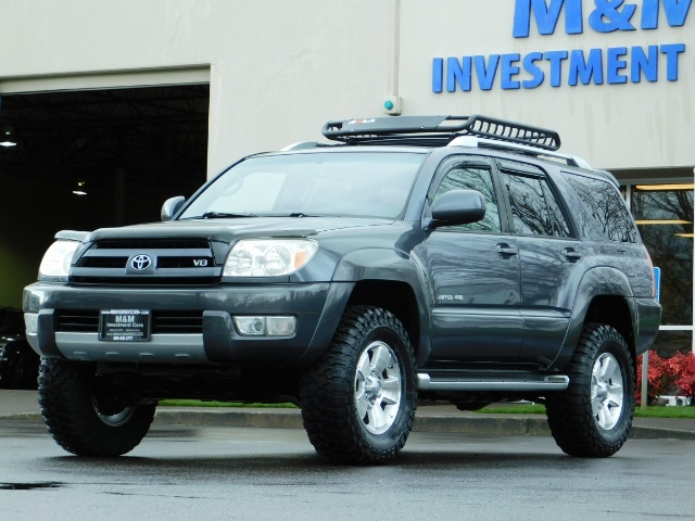 2004 Toyota 4Runner LIMITED / 4X4 / V8 / NAVi / LEATHER / LIFTED !! - Photo 43 - Portland, OR 97217