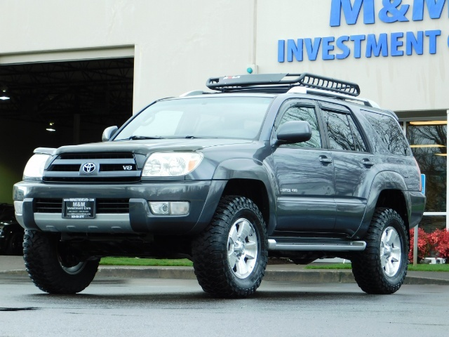 2004 Toyota 4Runner LIMITED / 4X4 / V8 / NAVi / LEATHER / LIFTED !! - Photo 44 - Portland, OR 97217