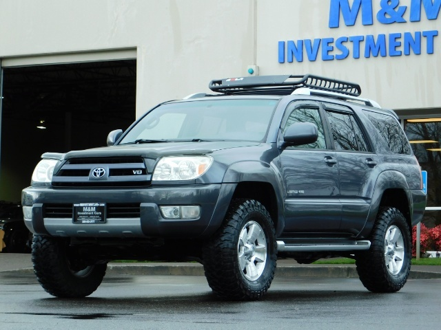 2004 Toyota 4Runner LIMITED / 4X4 / V8 / NAVi / LEATHER / LIFTED !! - Photo 45 - Portland, OR 97217