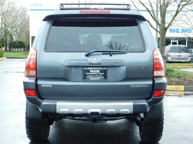 2004 Toyota 4Runner LIMITED / 4X4 / V8 / NAVi / LEATHER / LIFTED !! - Photo 6 - Portland, OR 97217