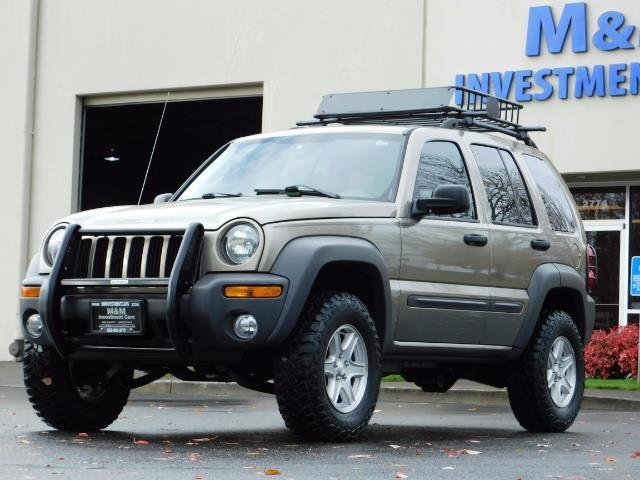 2003 Jeep Liberty Sport Utility 4X4 / V6 3.7L / LIFTED - Photo 1 - Portland, OR 97217