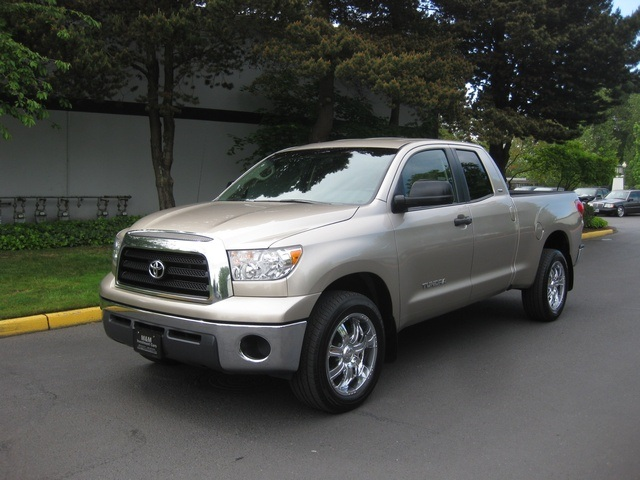 Toyota Of Portland >> 2007 Toyota Tundra SR5 Double Cab V6 / 20-inch Wheels/MINT Condition