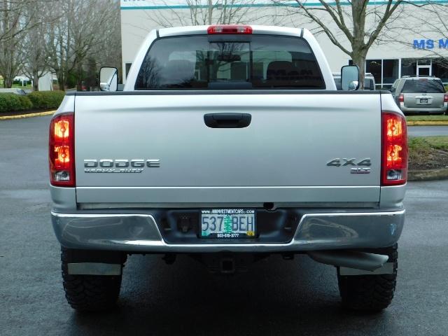 2004 Dodge Ram 2500 SLT 4X4 5.9L Cummins Diesel / LIFTED / 1-OWNER - Photo 6 - Portland, OR 97217