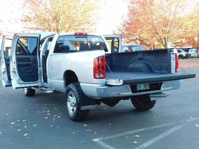 2004 Dodge Ram 2500 SLT 4dr Quad Cab / 4X4 / 5.9L DIESEL High Output - Photo 27 - Portland, OR 97217