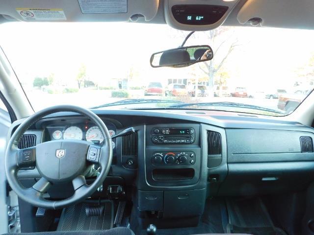 2004 Dodge Ram 2500 SLT 4dr Quad Cab / 4X4 / 5.9L DIESEL High Output - Photo 34 - Portland, OR 97217