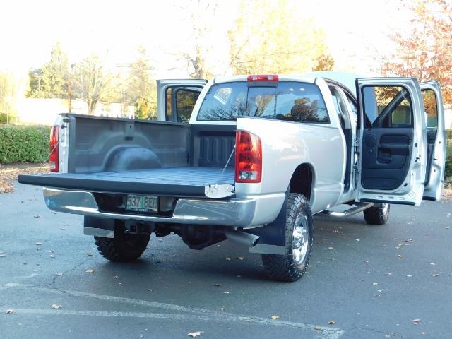 2004 Dodge Ram 2500 SLT 4dr Quad Cab / 4X4 / 5.9L DIESEL High Output - Photo 28 - Portland, OR 97217
