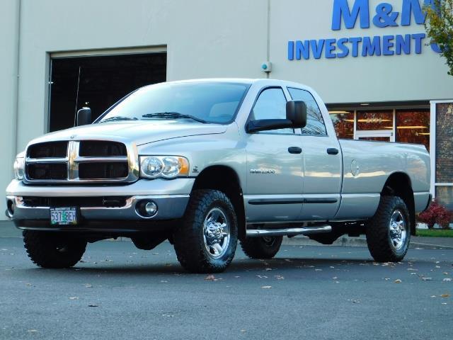 2004 Dodge Ram 2500 SLT 4dr Quad Cab / 4X4 / 5.9L DIESEL High Output - Photo 1 - Portland, OR 97217