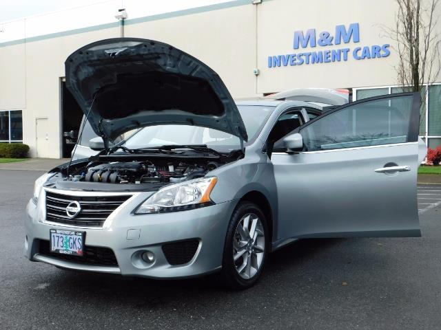 2013 Nissan Sentra SR / Navigation / Backup / Sunroof / 1-OWNER - Photo 25 - Portland, OR 97217