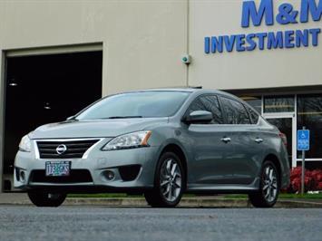 2013 Nissan Sentra SR / Navigation / Backup / Sunroof / 1-OWNER Sedan