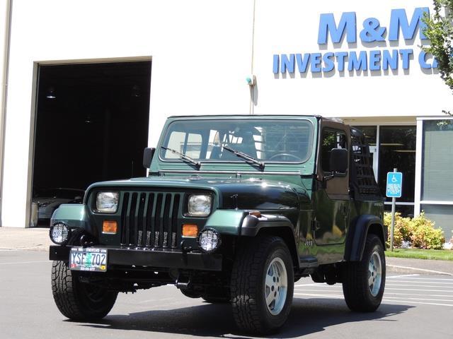 1994 jeep wrangler se yj body 5 spd manual transmission 2 owner rh mminvestmentcars com 1994 jeep wrangler yj owners manual pdf 1994 Jeep Wrangler Engine