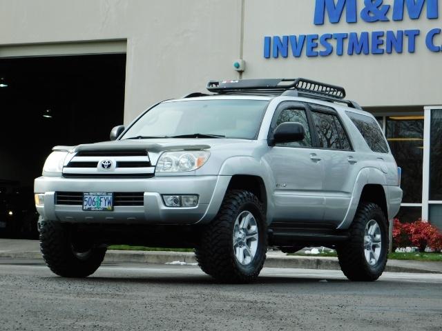 2003 Toyota 4Runner SR5 V6 4.0L / 4X4 / DIFF LOCK / LIFTED !! - Photo 41 - Portland, OR 97217