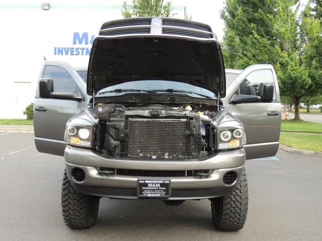 2006 dodge ram 2500 mega cab 4x4 cummins diesel custom lifted. Black Bedroom Furniture Sets. Home Design Ideas