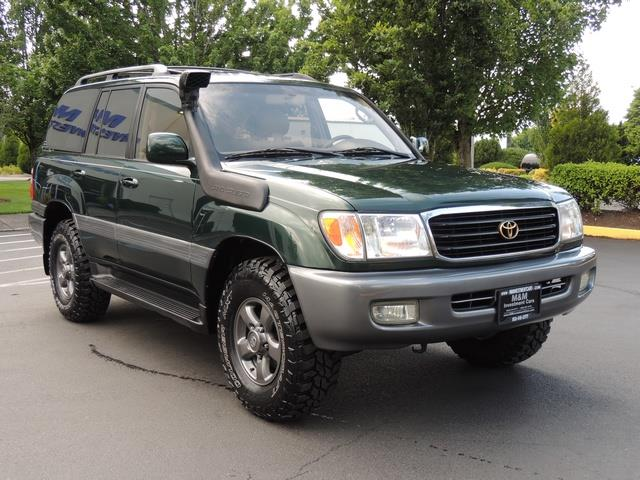 Beautiful 2000 Toyota Land Cruiser 4WD NEW OLD MAN EMU LIFT MUD TIRES SNORKEL   Photo  2
