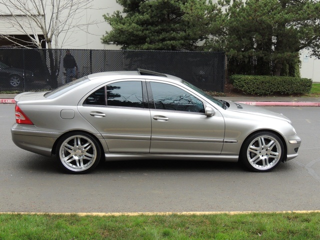 2005 Mercedes Benz C230 SPORT / Supercharged / BRABUS Wheels / Loaded    Photo 4