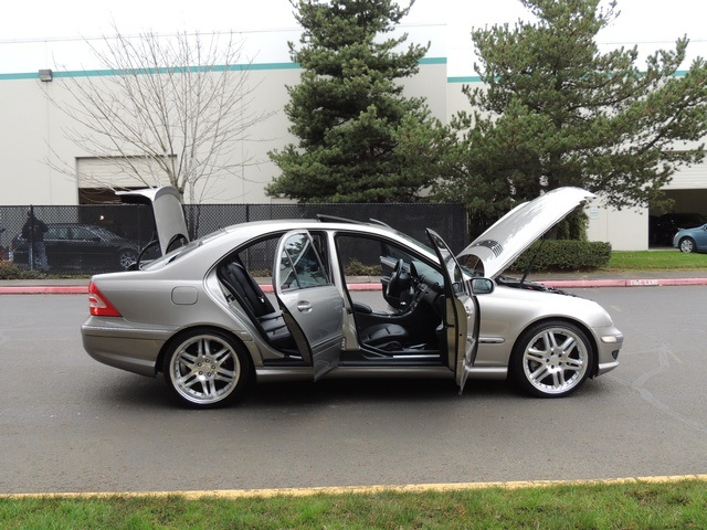 2005 Mercedes Benz C230 Sport Supercharged Brabus Wheels Loaded