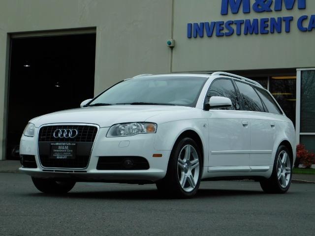 2008 Audi A4 2.0T Avant quattro AWD / S-Line / Wagon / Htd seat - Photo 1 - Portland, OR 97217