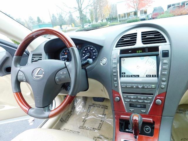 2007 Lexus ES 350 Sedan / NAVi / CAM / Heated & Cooled Seats - Photo 35 - Portland, OR 97217