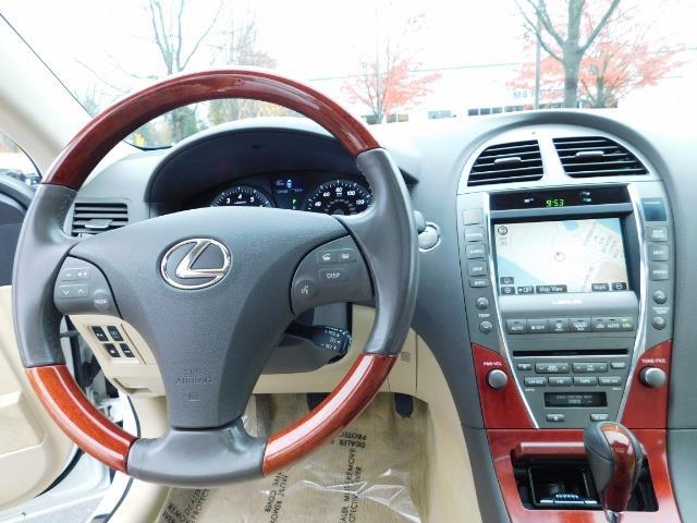 2007 Lexus ES 350 Sedan / NAVi / CAM / Heated & Cooled Seats - Photo 30 - Portland, OR 97217