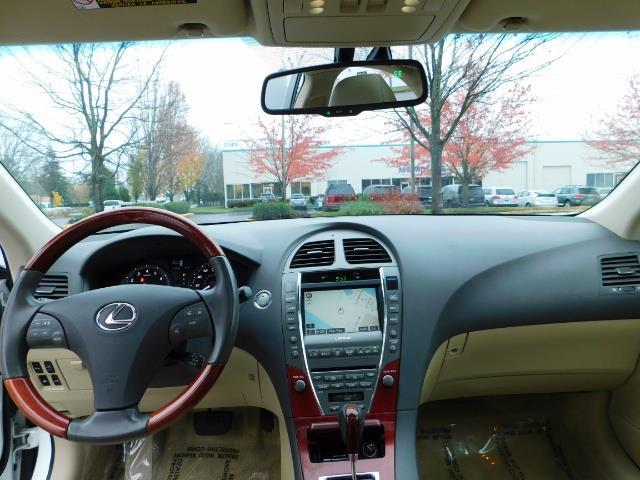 2007 Lexus ES 350 Sedan / NAVi / CAM / Heated & Cooled Seats - Photo 29 - Portland, OR 97217