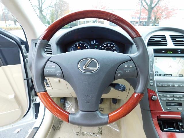 2007 Lexus ES 350 Sedan / NAVi / CAM / Heated & Cooled Seats - Photo 36 - Portland, OR 97217