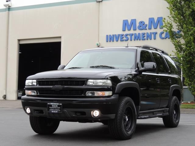 2005 Chevrolet Tahoe Z71 / 4X4 / Sunroof / Captain Chairs / Loaded   Photo 1