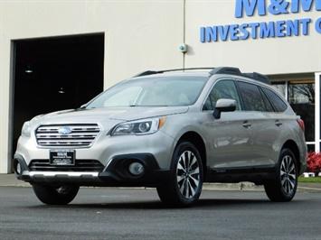 2016 Subaru Outback 2.5i Limited / Wagon / AWD / Leather / 1-OWNER Wagon