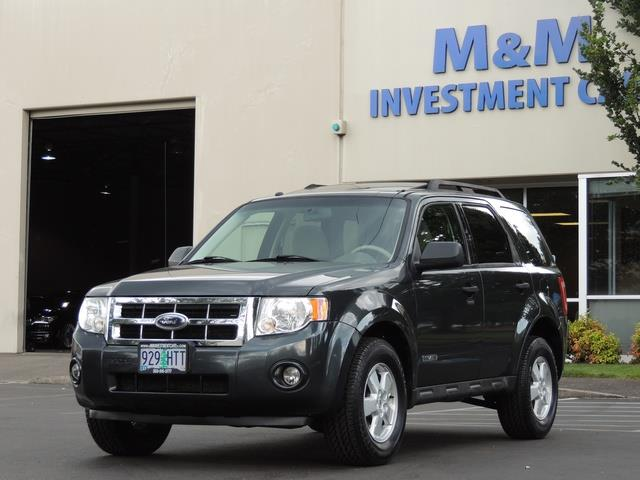 Ford Escape Sunroof >> 2008 Ford Escape Xlt Sport Utility Sunroof New Tires