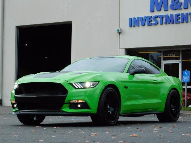 2015 Ford Mustang GT Premium / 6-SPEED / ONE OF A KIND / 16K MILES - Photo 1 - Portland, OR 97217