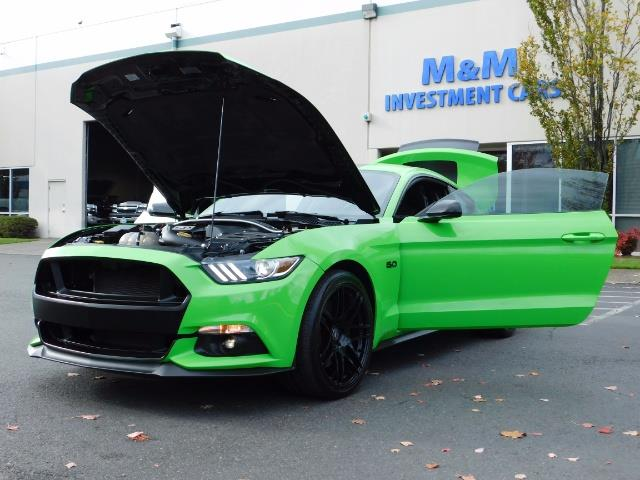 2015 Ford Mustang GT Premium / 6-SPEED / ONE OF A KIND / 16K MILES - Photo 25 - Portland, OR 97217