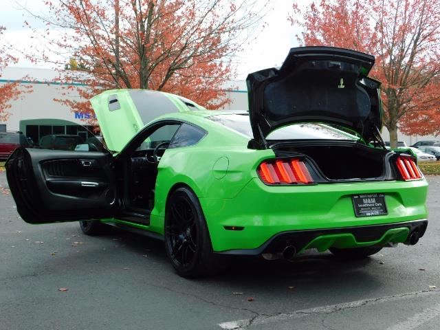2015 Ford Mustang GT Premium / 6-SPEED / ONE OF A KIND / 16K MILES - Photo 27 - Portland, OR 97217