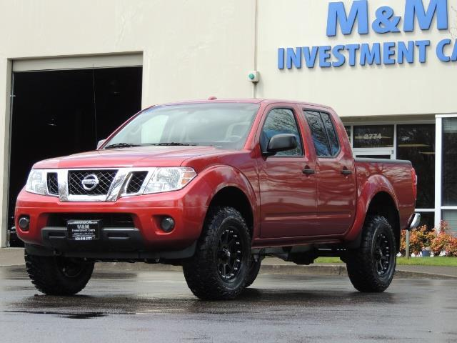 2016 Nissan Frontier Sv 4x4 Crew Cab 6cyl Lifted Photo