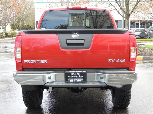 2016 Nissan Frontier SV / 4X4 / Crew Cab / 6Cyl / LIFTED LIFTED - Photo 6 - Portland, OR 97217