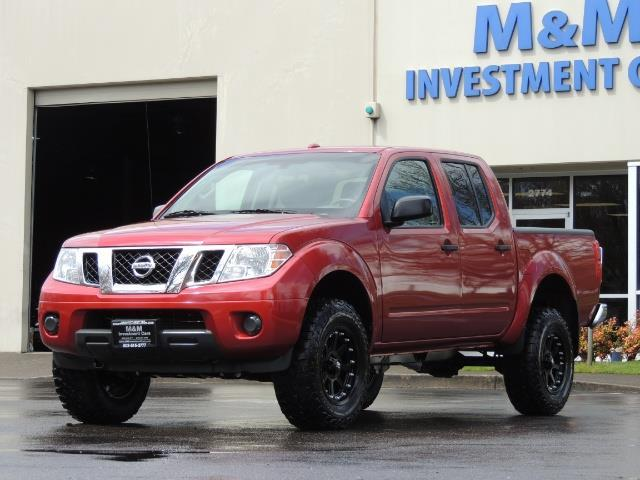 2016 Nissan Frontier SV / 4X4 / Crew Cab / 6Cyl / LIFTED LIFTED - Photo 47 - Portland, OR 97217