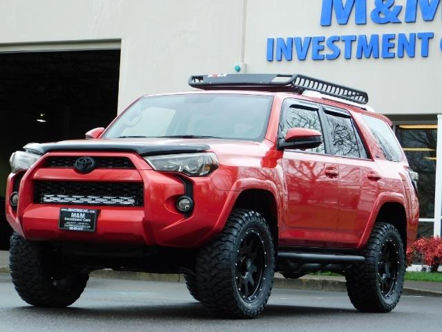 2016 Toyota 4Runner SR5 / 4X4 / Rack / NAV / BACKUP / LIFTED LIFTED - Photo 51 - Portland, OR 97217