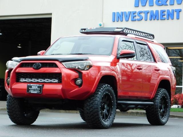 2016 Toyota 4Runner SR5 / 4X4 / Rack / NAV / BACKUP / LIFTED LIFTED - Photo 50 - Portland, OR 97217