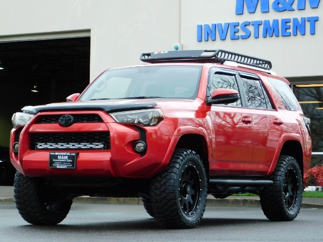 2016 Toyota 4Runner SR5 / 4X4 / Rack / NAV / BACKUP / LIFTED LIFTED - Photo 48 - Portland, OR 97217