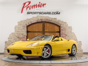 2001 Ferrari 360 Spider Convertible