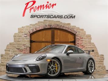 2018 Porsche 911 GT3 - Manual Coupe
