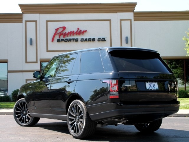 Range rover ebony edition for sale