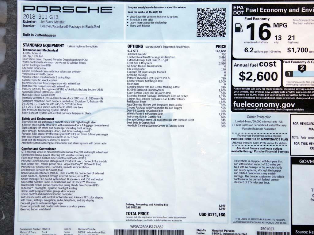 """2018 Porsche 911 GT3  """"Manual """" - Photo 57 - Springfield, MO 65802"""
