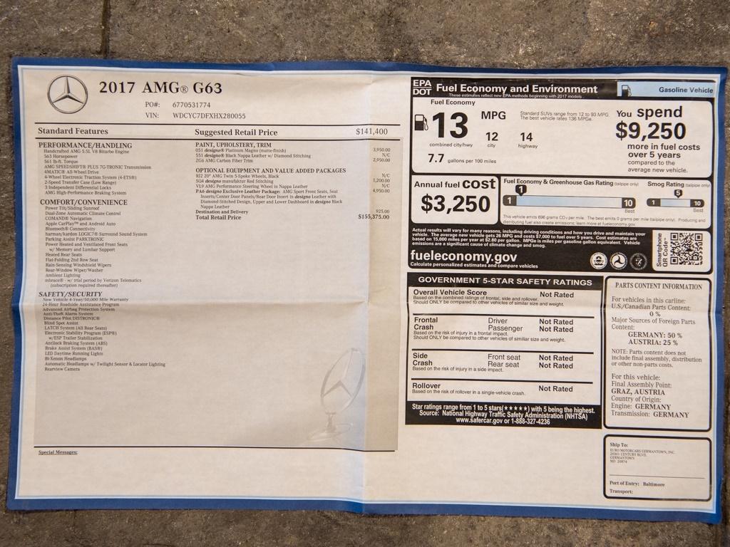 2017 Mercedes-Benz AMG G 63 - Photo 45 - Springfield, MO 65802