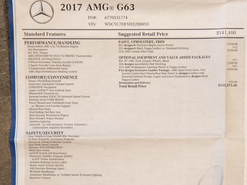 2017 Mercedes-Benz AMG G 63 - Photo 46 - Springfield, MO 65802